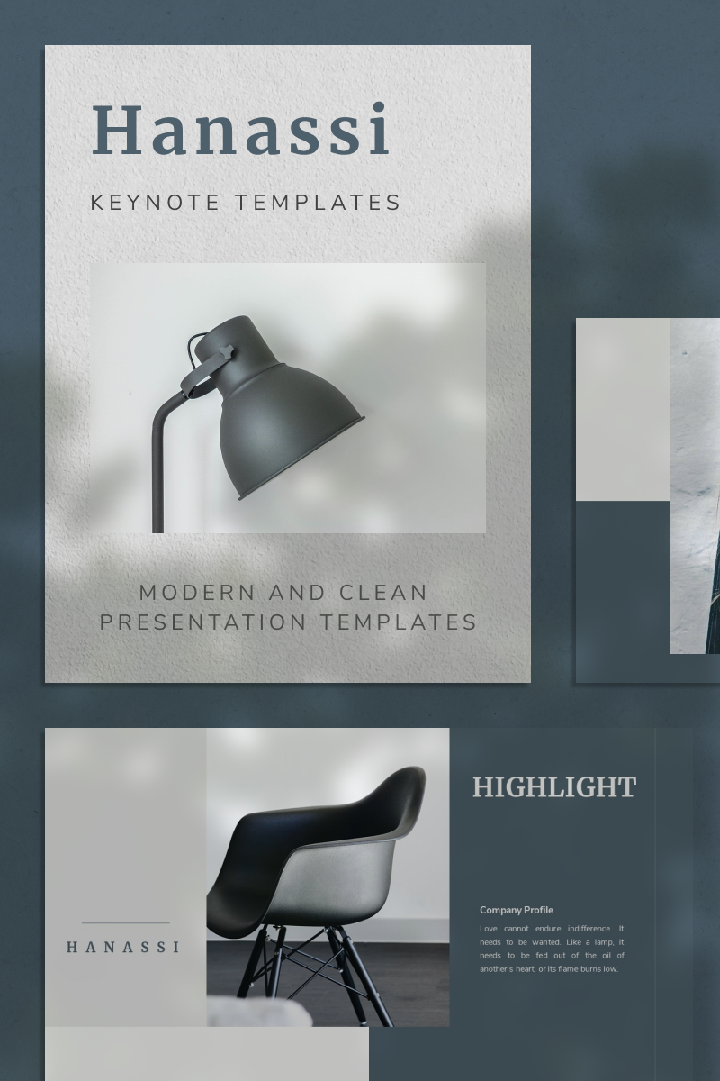 HANASSI Keynote Template - screenshot