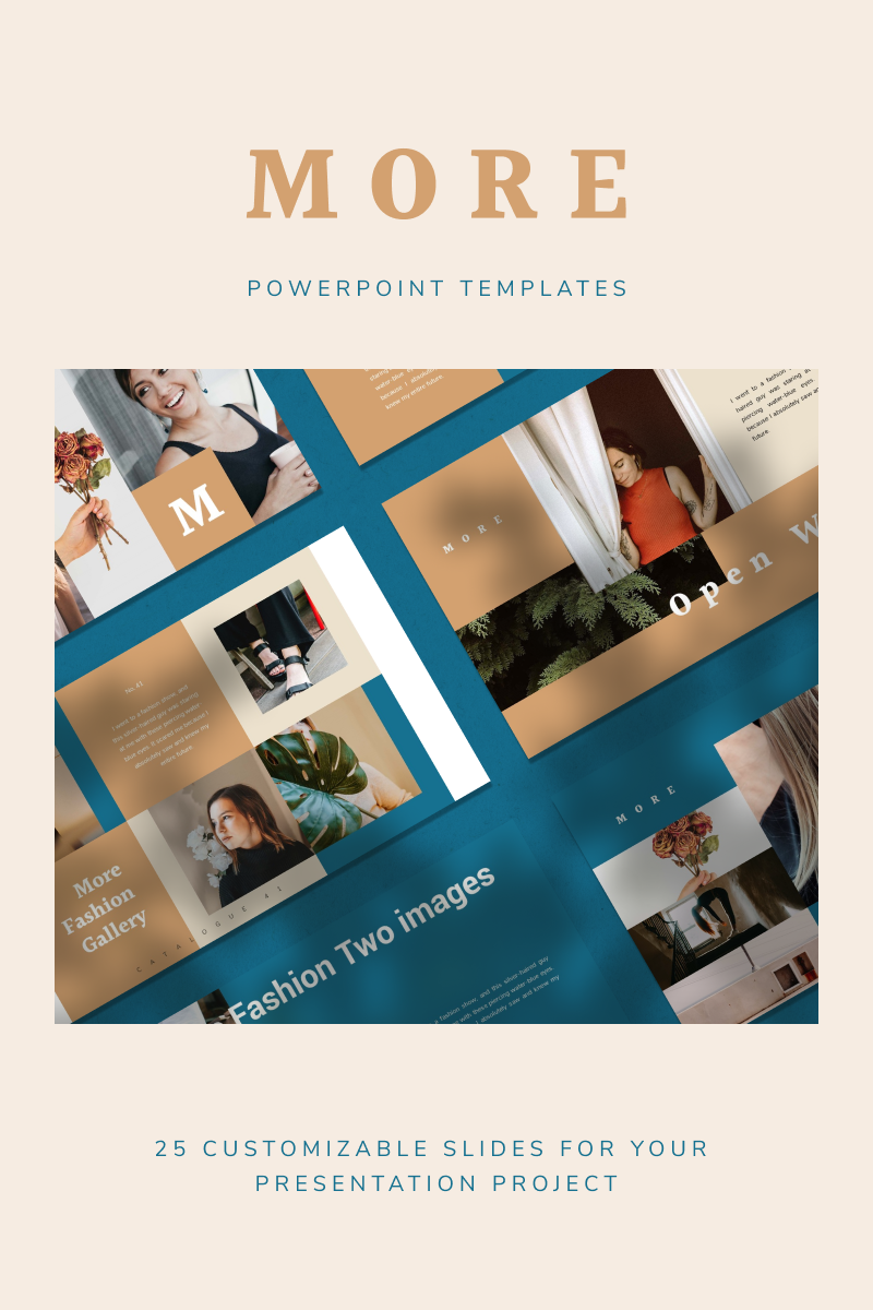 MORE PowerPoint Template - screenshot