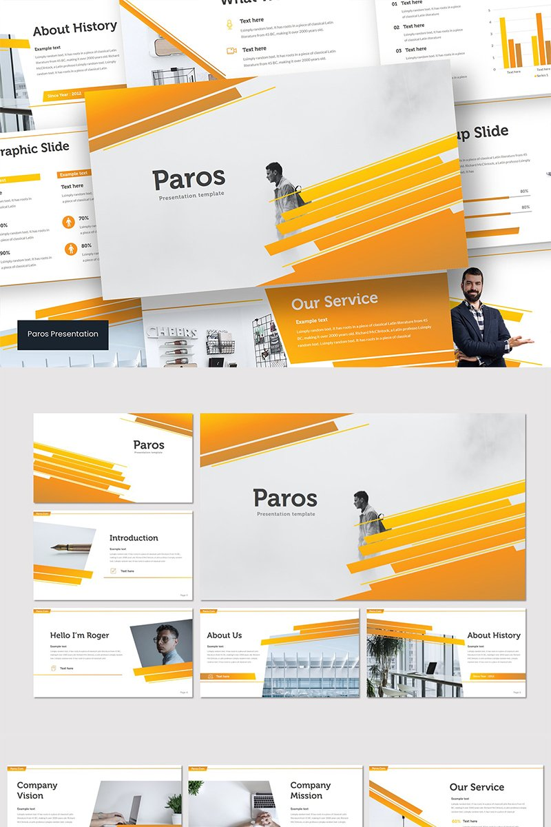Paros Keynote Template - screenshot