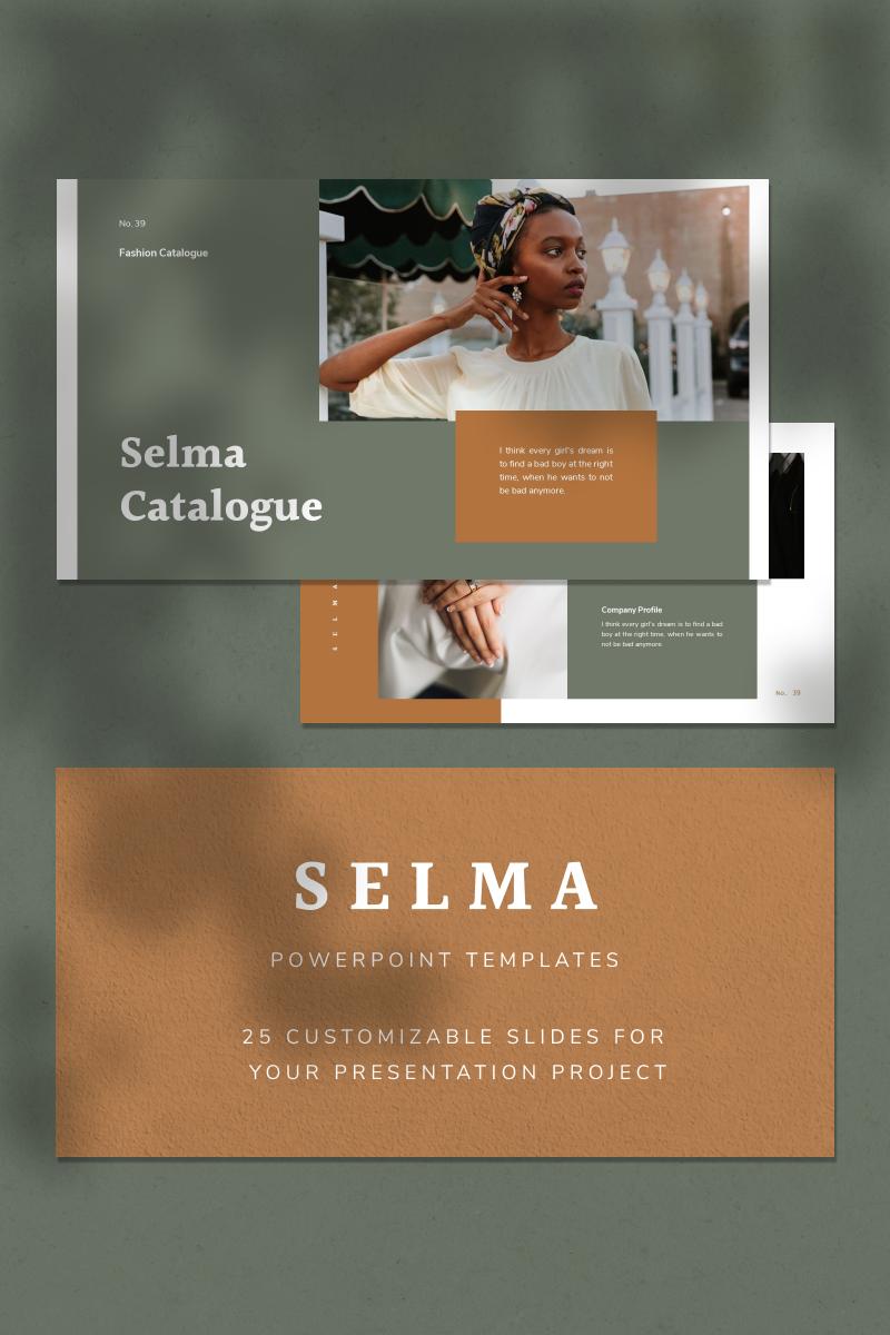 """PowerPoint šablona """"SELMA"""" #93132"""