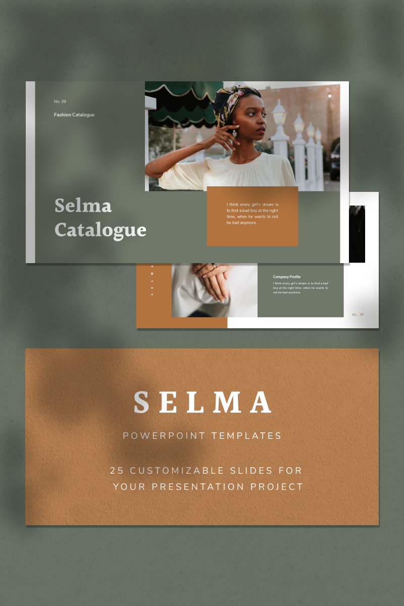 SELMA Template PowerPoint №93132
