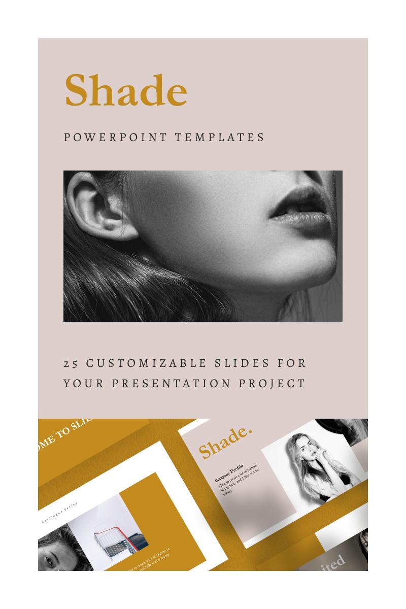 SHADE PowerPoint Template - screenshot