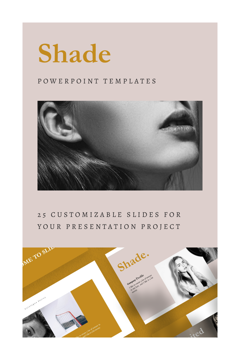 SHADE Template PowerPoint №93131