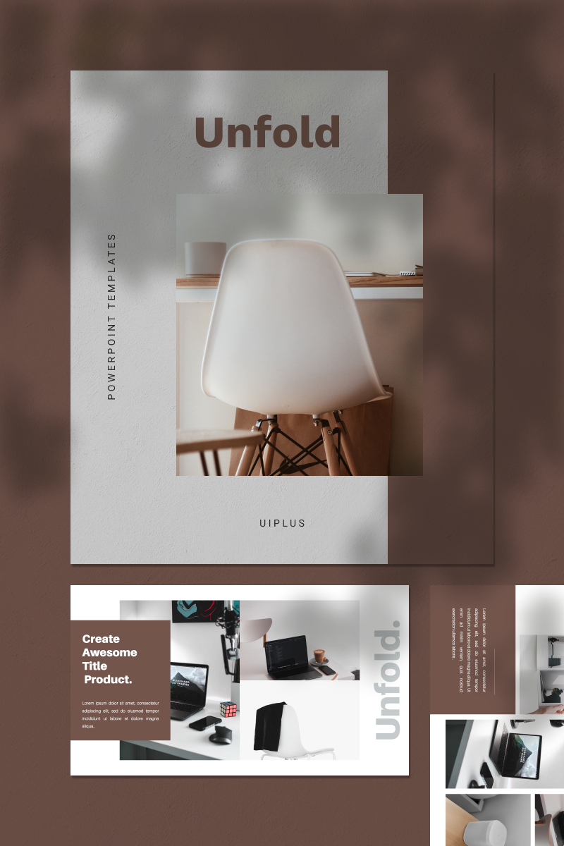 """UNFOLD"" PowerPoint Template №93128"