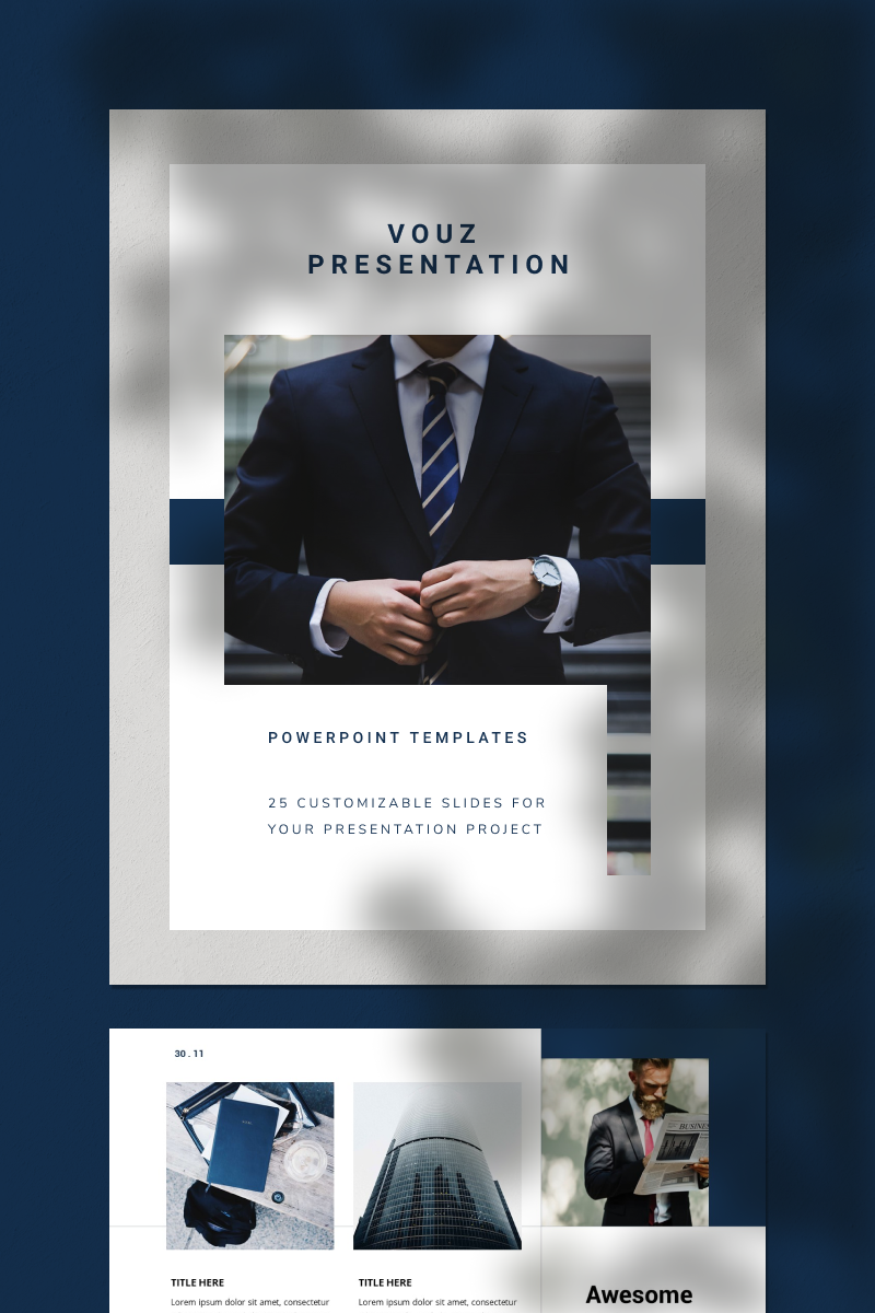 VOUZ PowerPoint Template