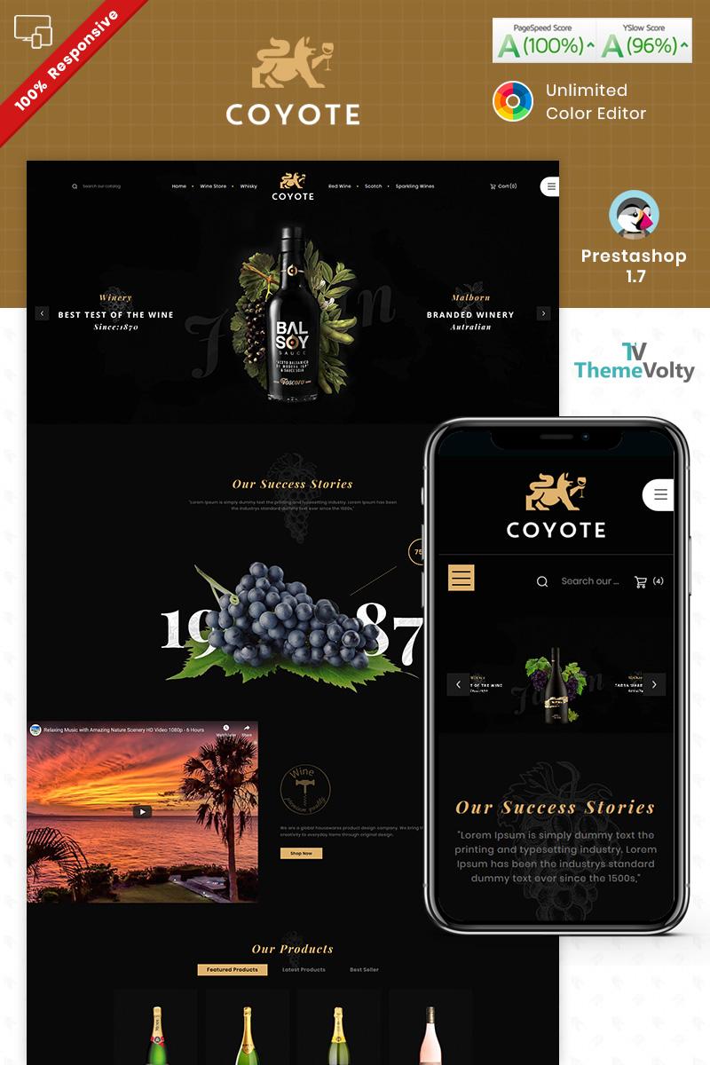Covote Wine Alcohol Store №93250