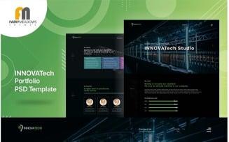 Innovatech - Portfolio PSD Template
