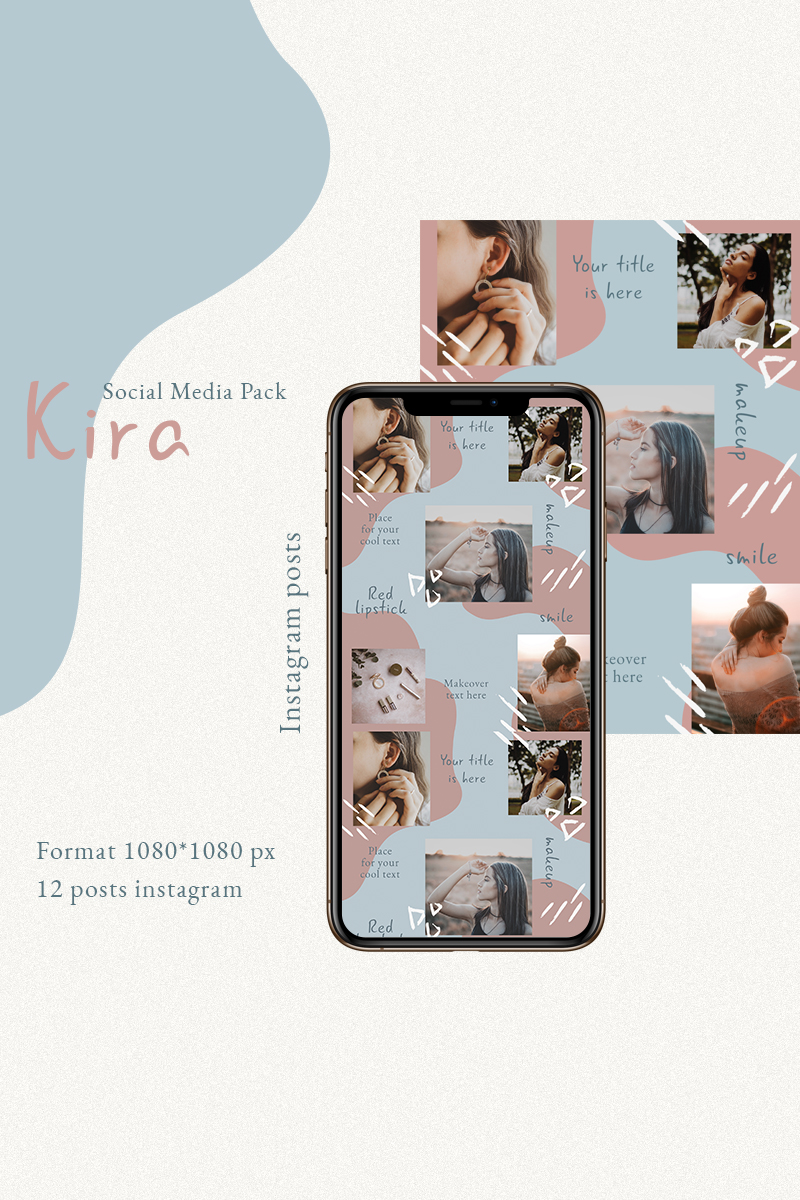 """Kira"" média social  #93247"