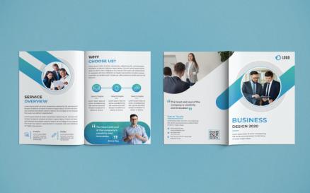 Bifold Brochure Design Corporate Identity