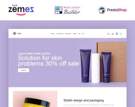 Wellbe - K-Beauty Online Ecommerce PrestaShop Theme