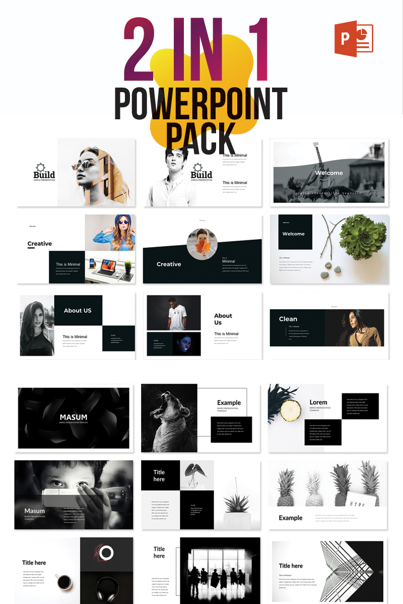 Creative - Business Pack PowerPoint Template - screenshot