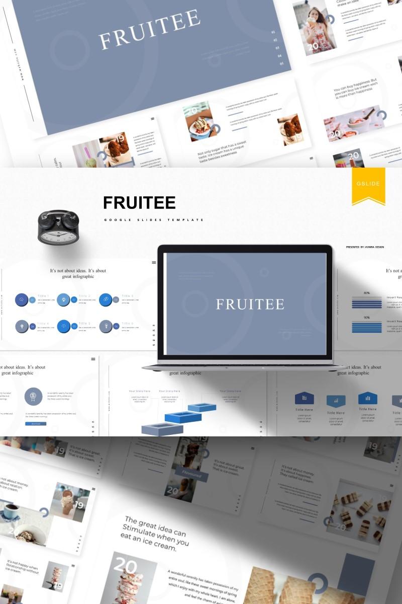 Fruitee | Google Slides - screenshot