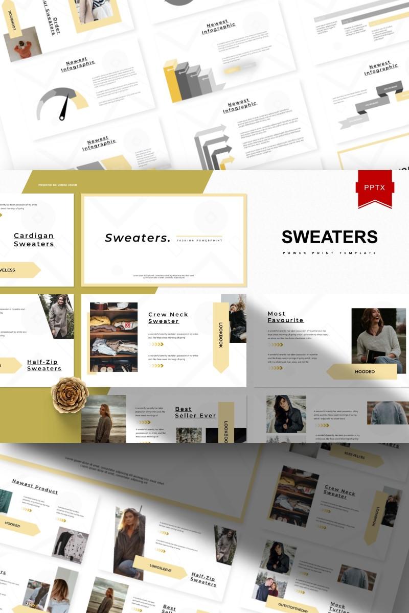 "Modello PowerPoint #93380 ""Sweaters -"""