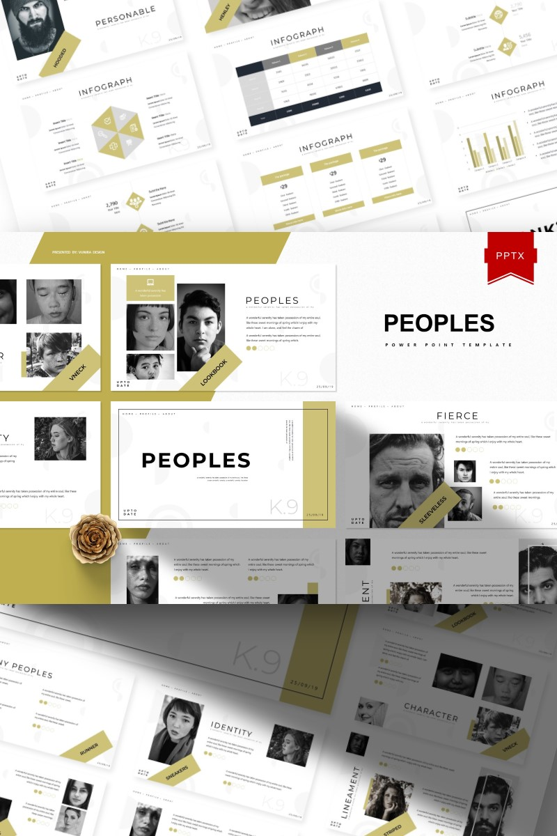 Peoples | PowerPoint Template - screenshot