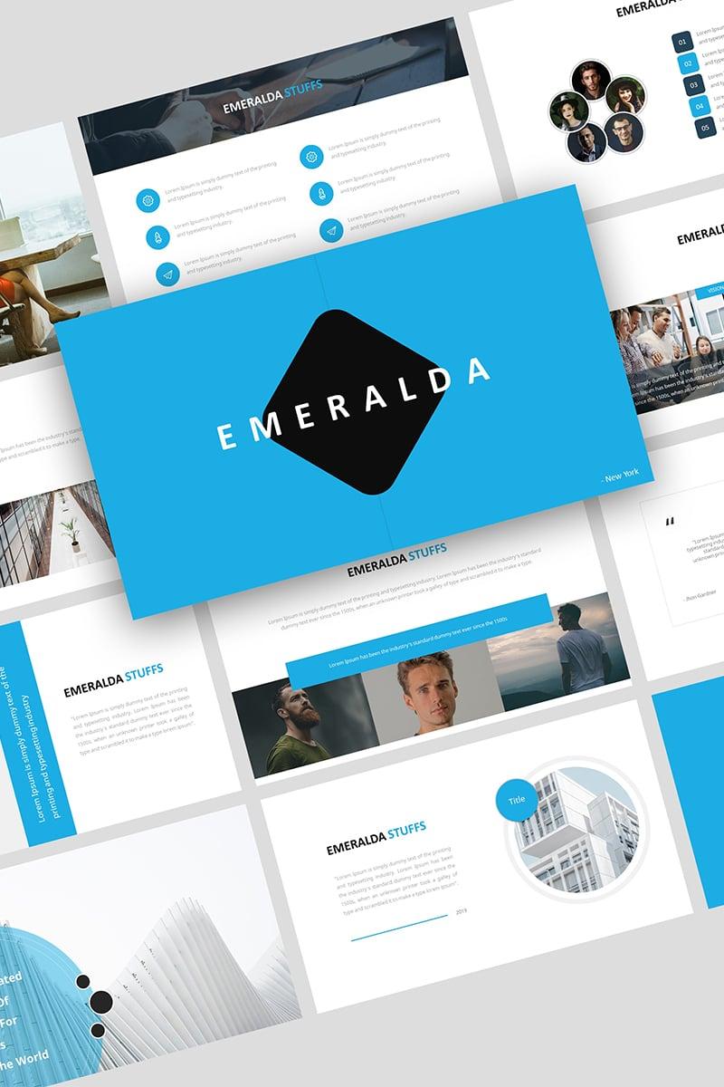 "Tema Google Slides #93363 ""Emeralda Creative Business"""