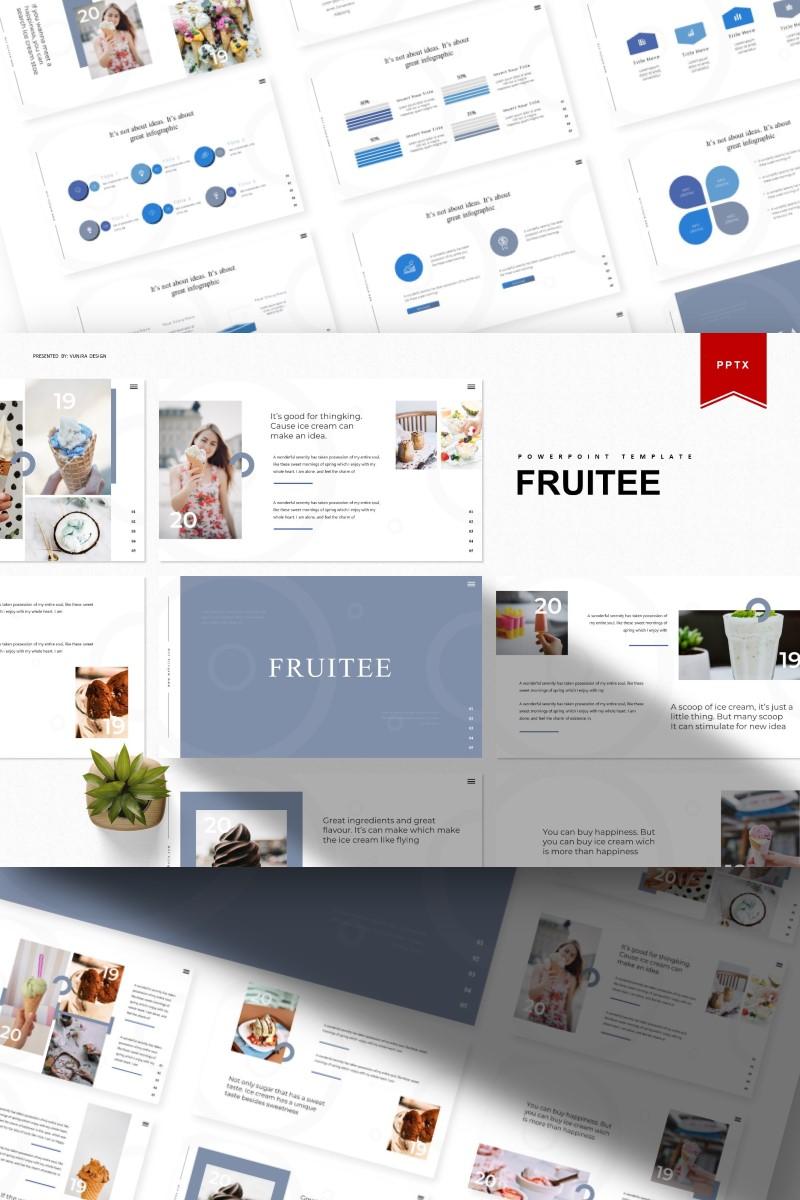 "Tema PowerPoint #93384 ""Fruitee |"" - screenshot"