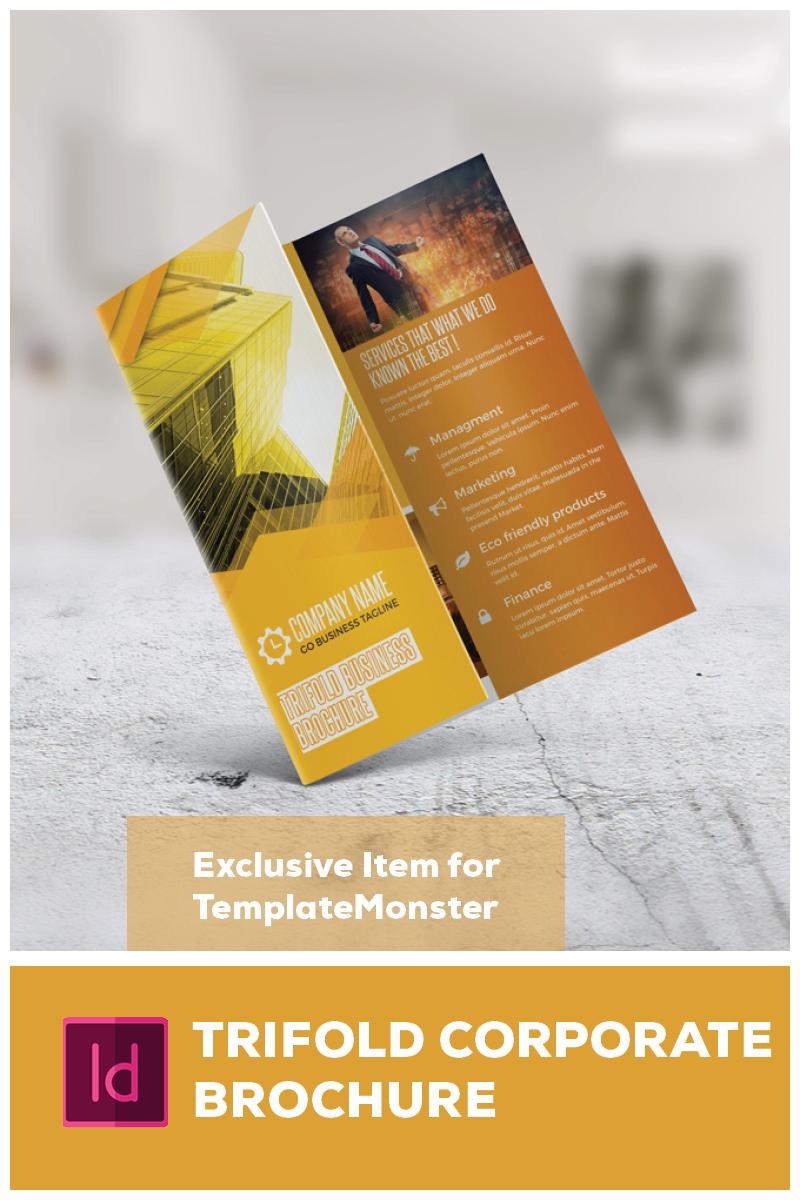 Trifold Brochure Corporate Identity Template - screenshot