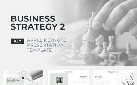Business Strategy 2 Keynote Template