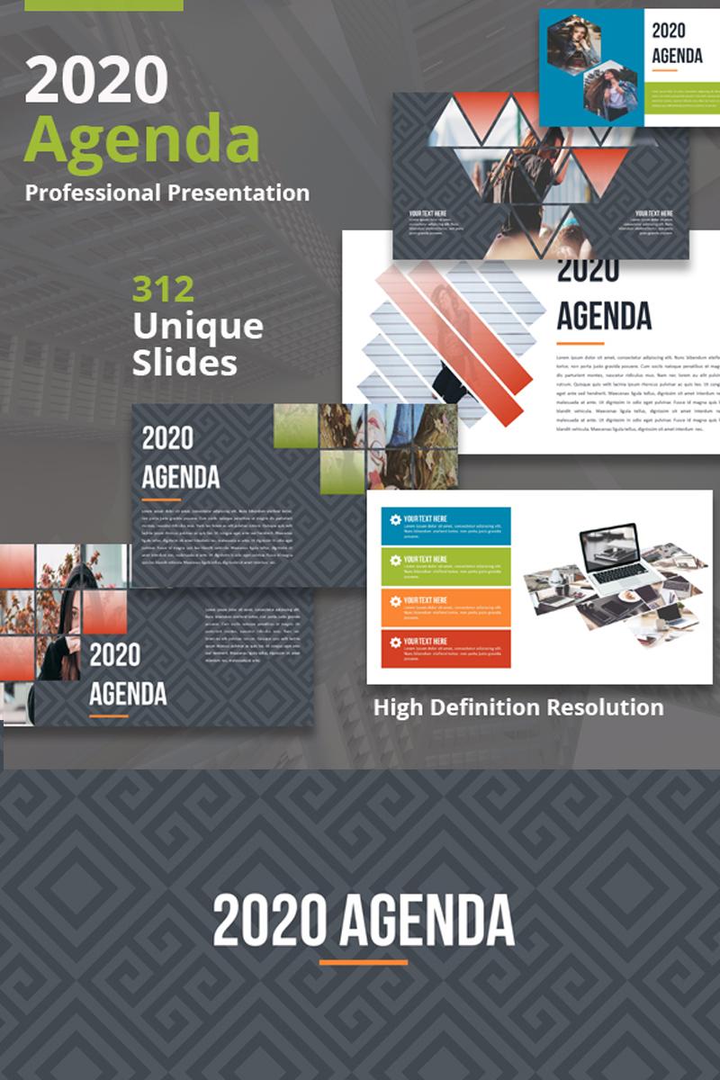 2020 Agenda - Keynote Template - screenshot