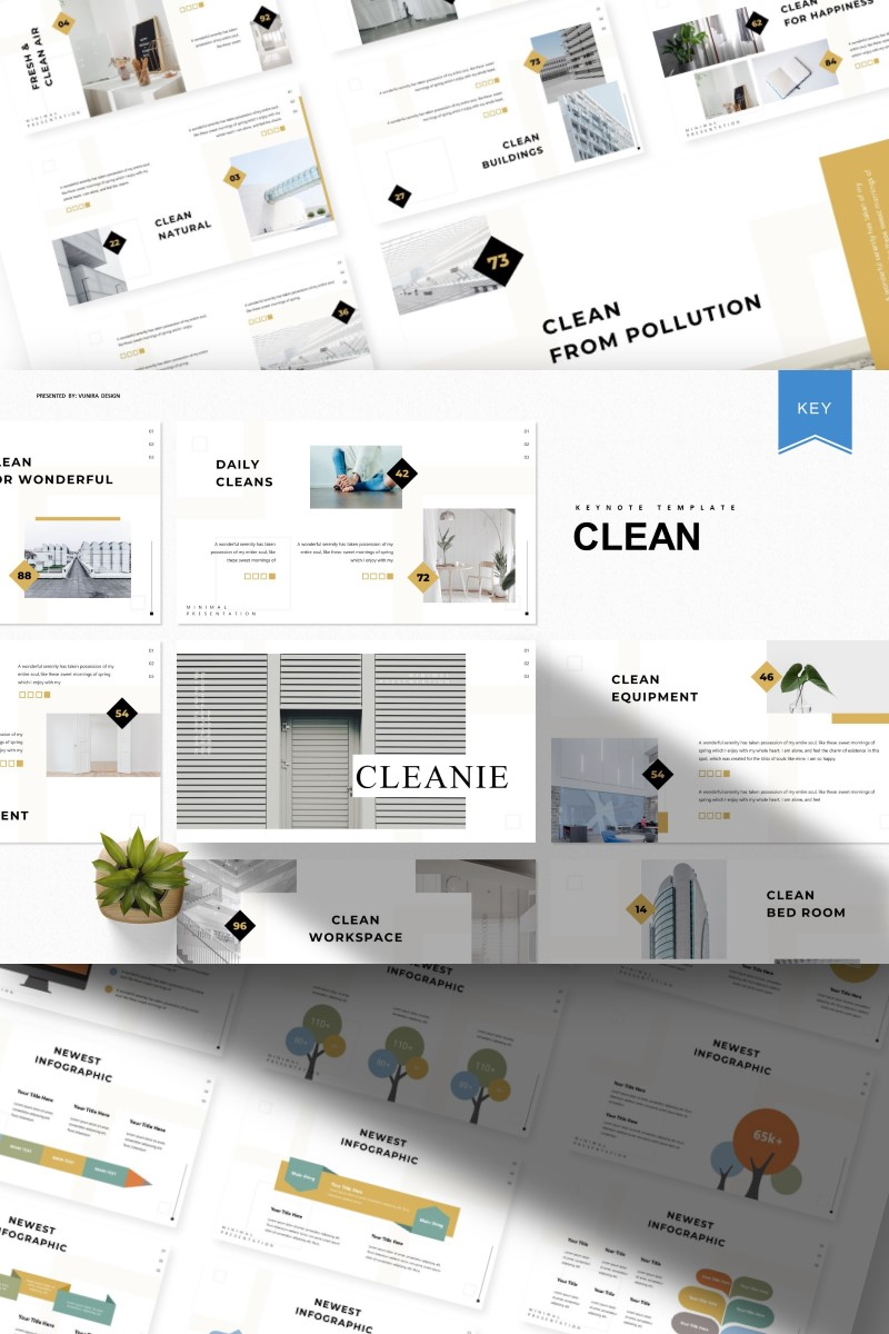 Clean | Keynote Template - screenshot