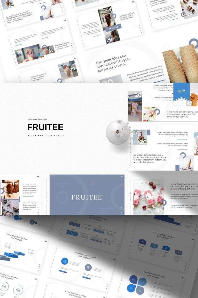 Fruitee | Keynote Template - screenshot