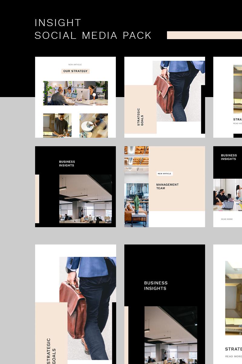 """Insight Instagram Pack"" - Шаблон для соцмереж №93439 - скріншот"