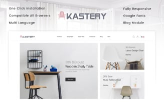Kastery - Wood Store PrestaShop Theme