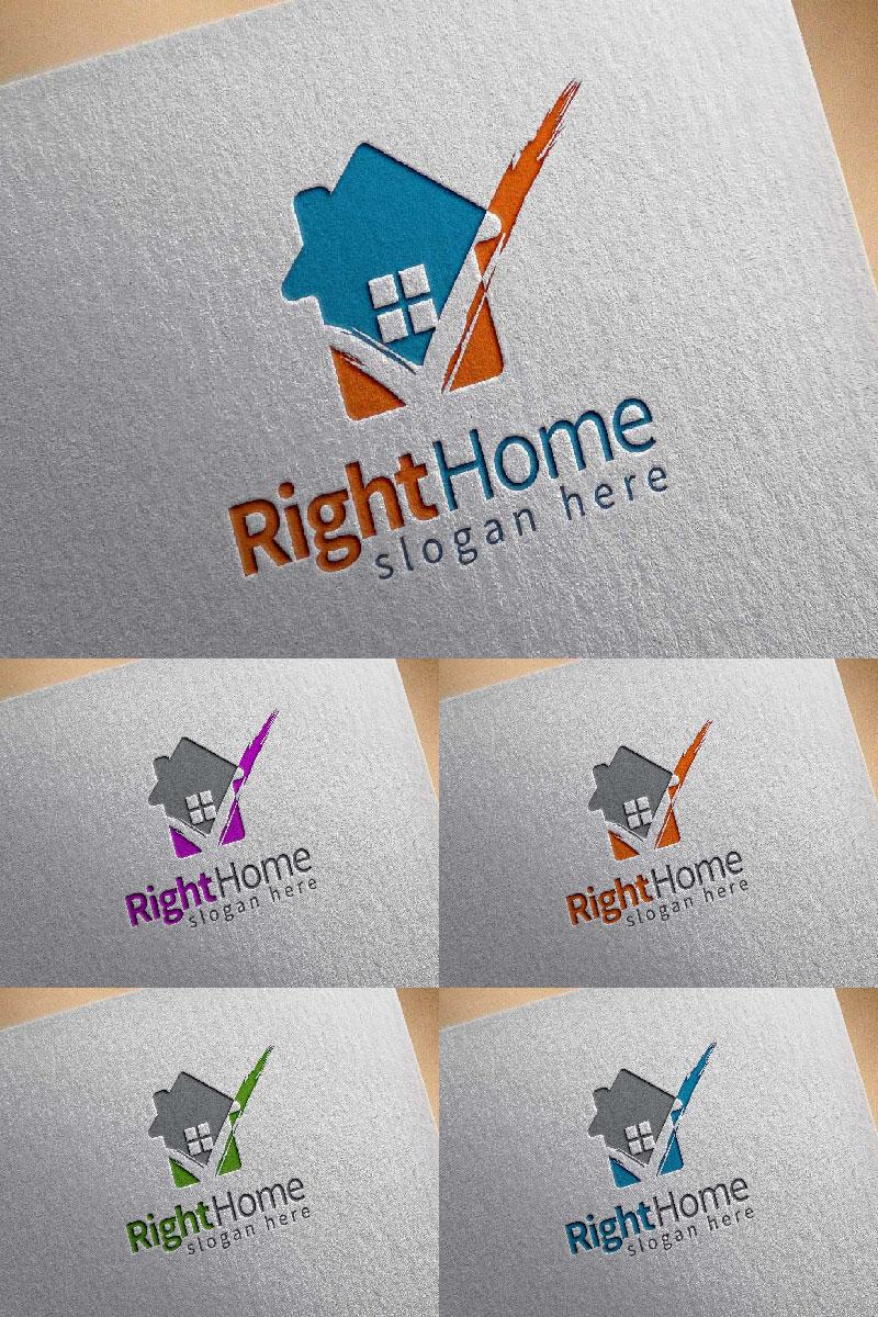 Real Estate  5 Logo Template - screenshot