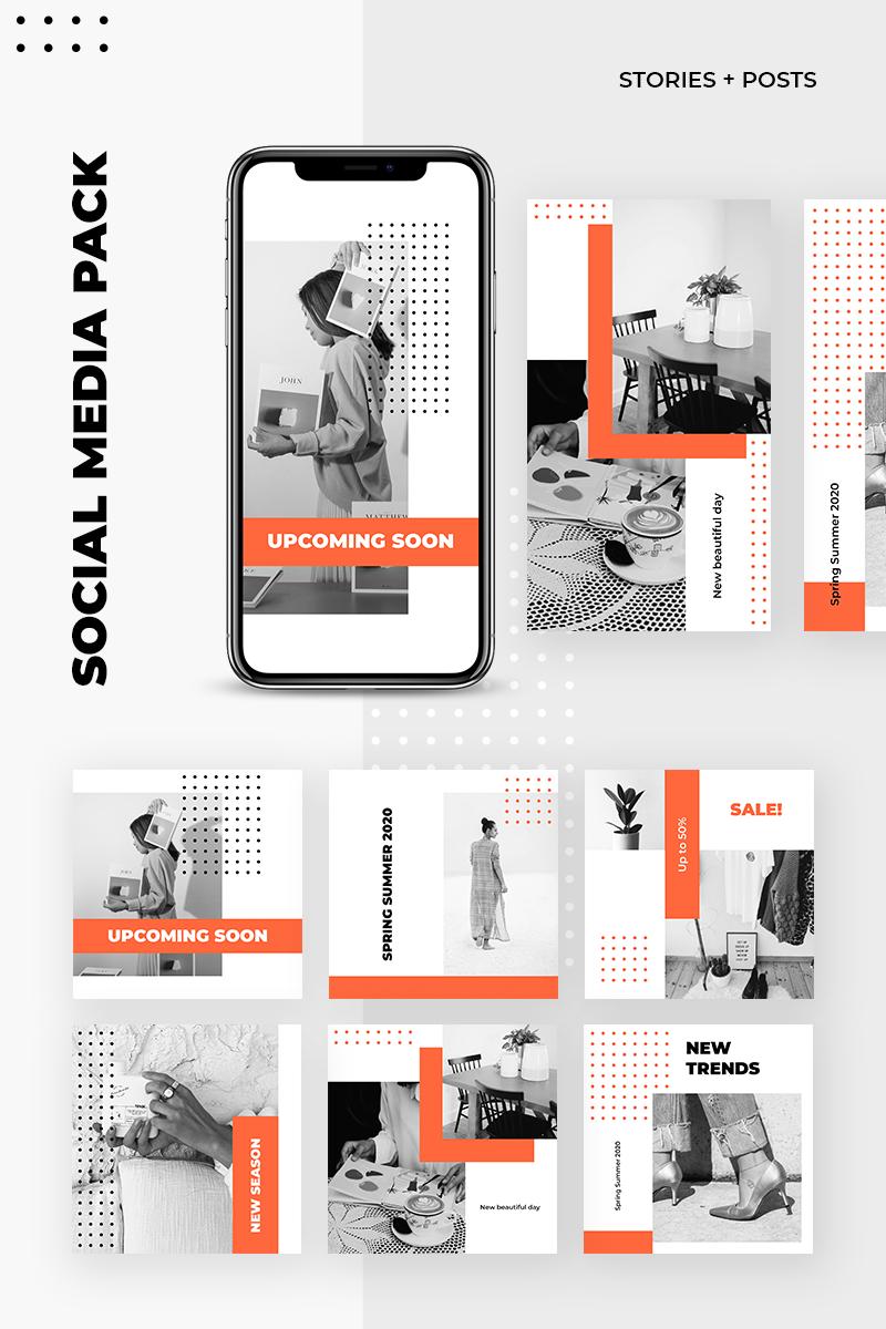 """Sociální sítě """"Dots Instagram Pack"""" #93446 - screenshot"""