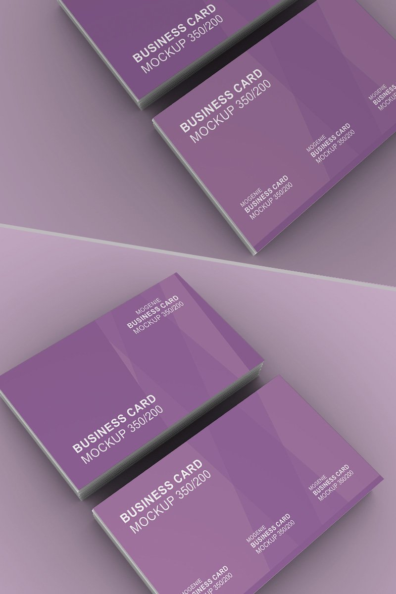 Stack of Business Card №93456