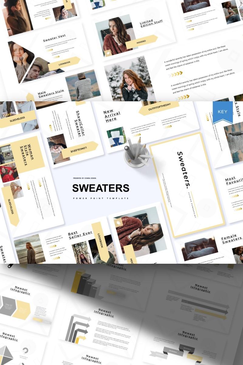 Sweaters   Keynote Template - screenshot