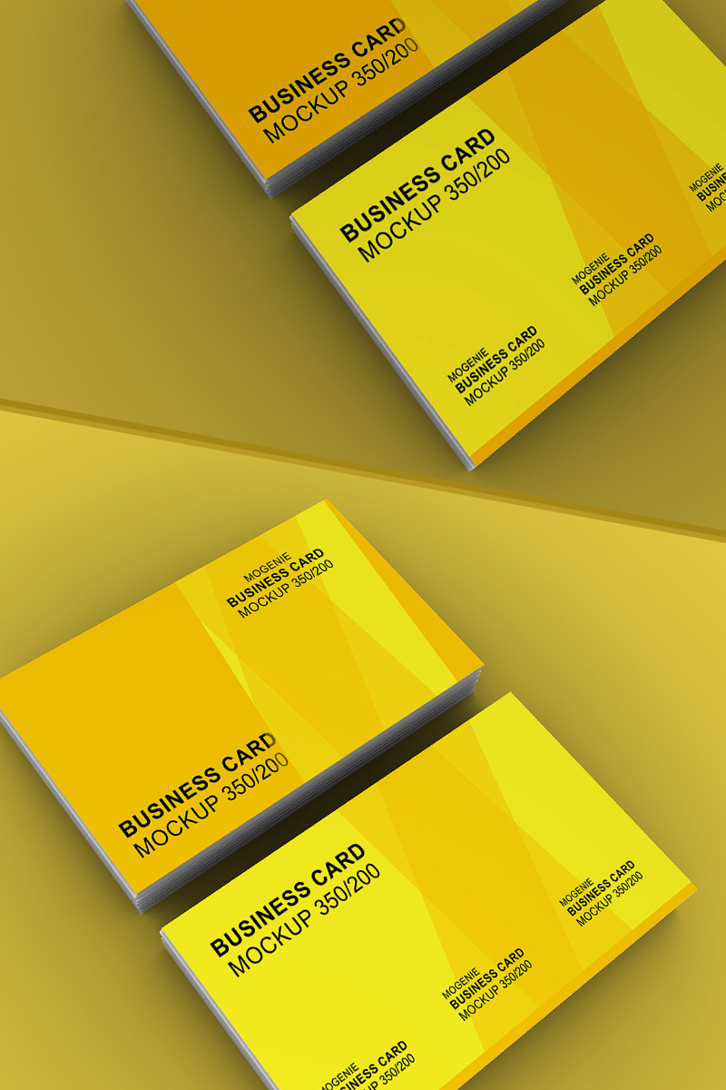 Two stacks of business card side by side №93454