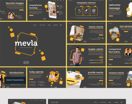 Mevla Keynote Template