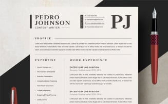 Pedro Resume Template