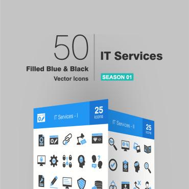 Купить  пофессиональные Набор иконок. Купить шаблон #93557 и создать сайт.