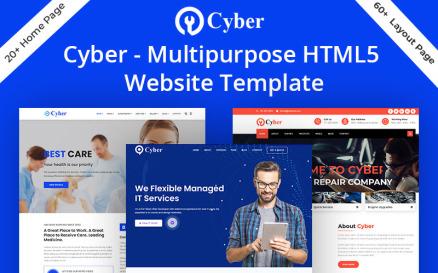 Cyber - Multipurpose HTML5 Website Template