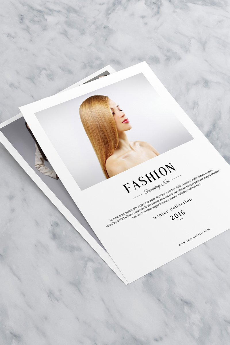 Fashion Product Sale Flyer Corporate Identity Template