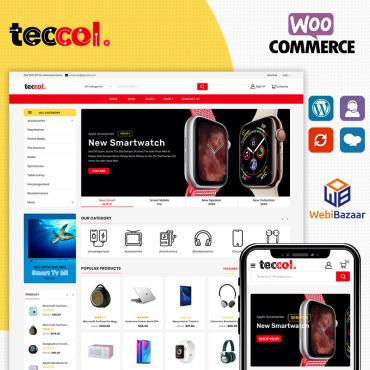 Купить  пофессиональные WooCommerce шаблоны. Купить шаблон #93614 и создать сайт.