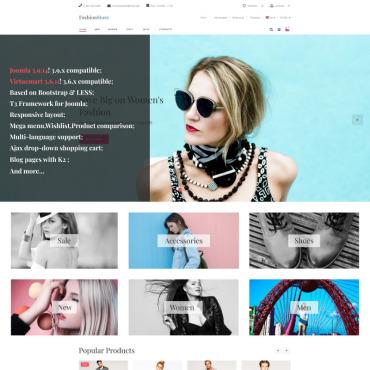 Купить  пофессиональные VirtueMart шаблоны. Купить шаблон #93636 и создать сайт.