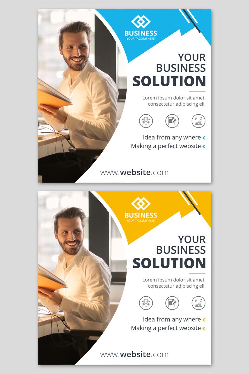 """""""Business Instagarm Post"""" média social  #93642"""