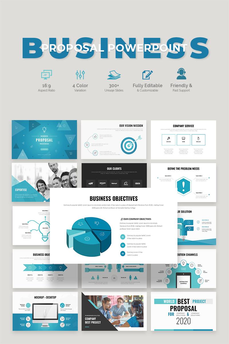 Business Proposal PowerPoint Template - screenshot
