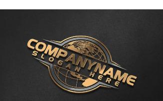 Global World Logo Template