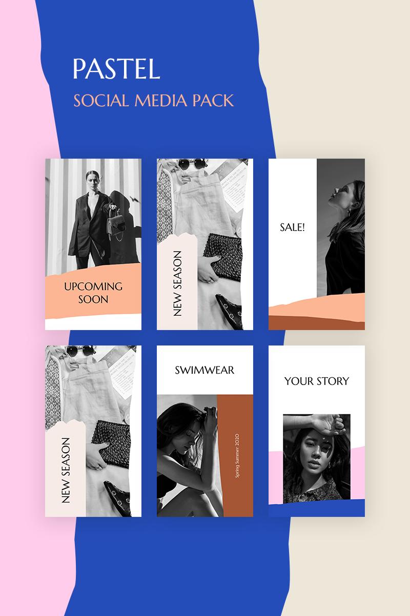 Pastel Pack Social Media - screenshot