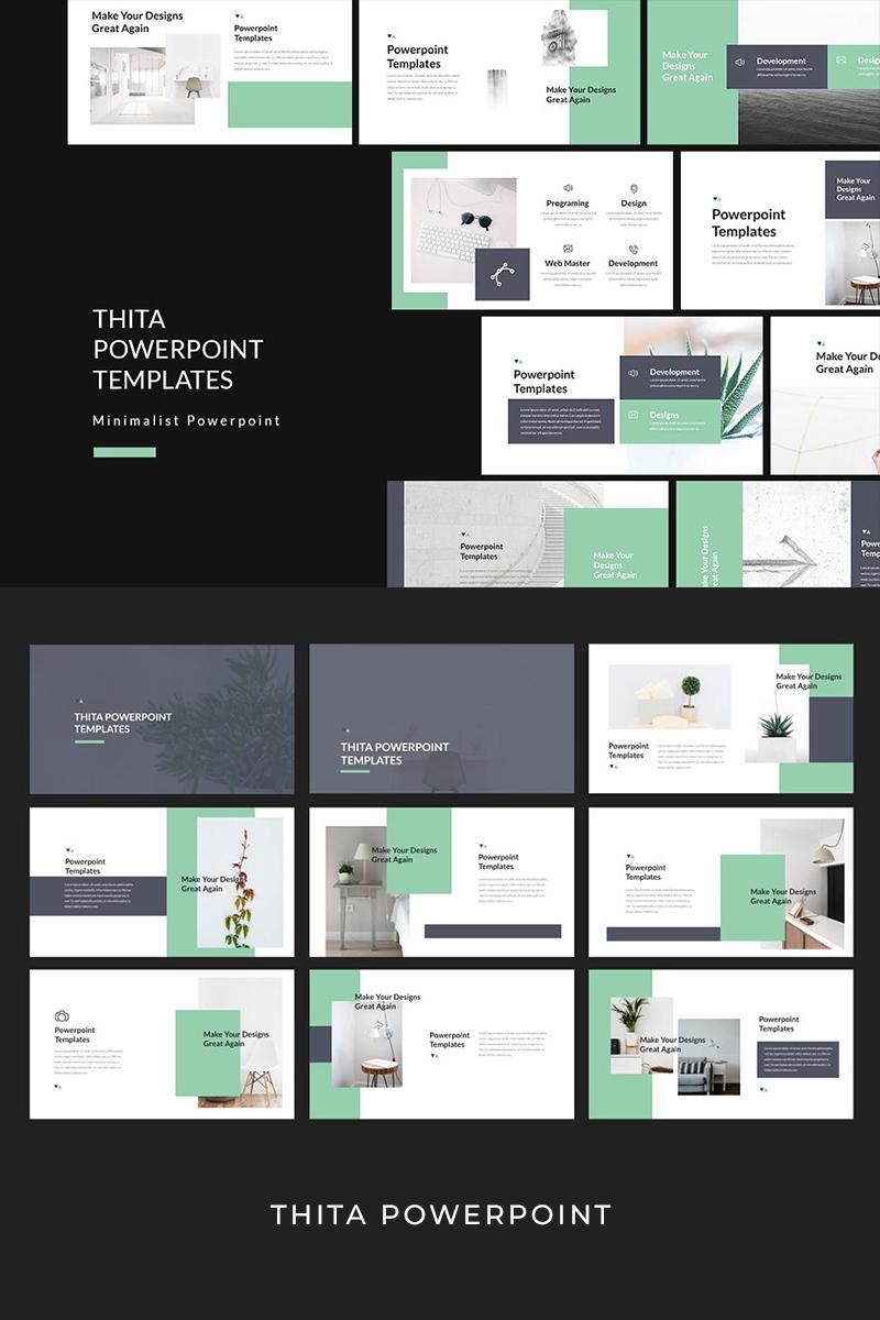 "PowerPoint šablona ""Thita Lookbook"" #93941"