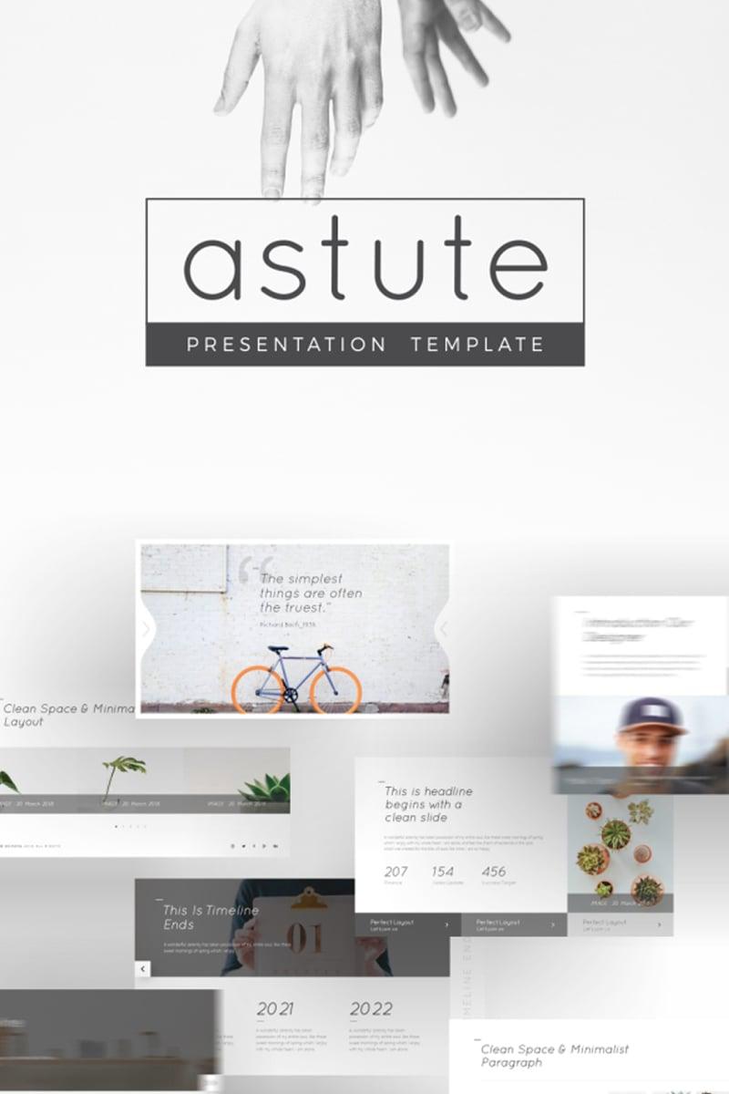 "Tema PowerPoint #93951 ""Astute Multifunctional"" - screenshot"