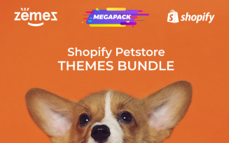 Pets Store Themes Bundle