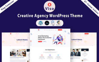 VISO - Creative Agency WordPress Theme