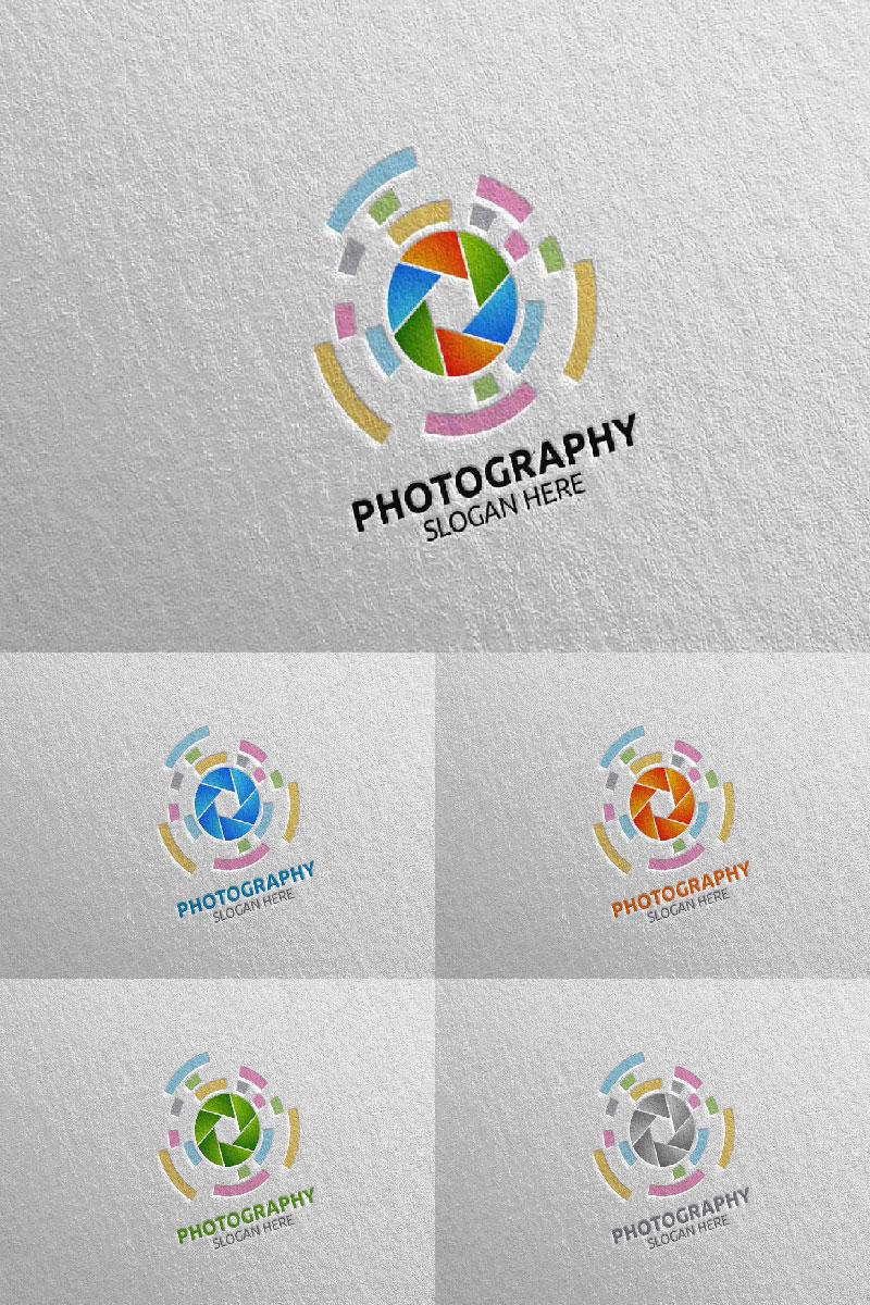 Abstract Camera Photography 16 Unika logotyp mall #94019