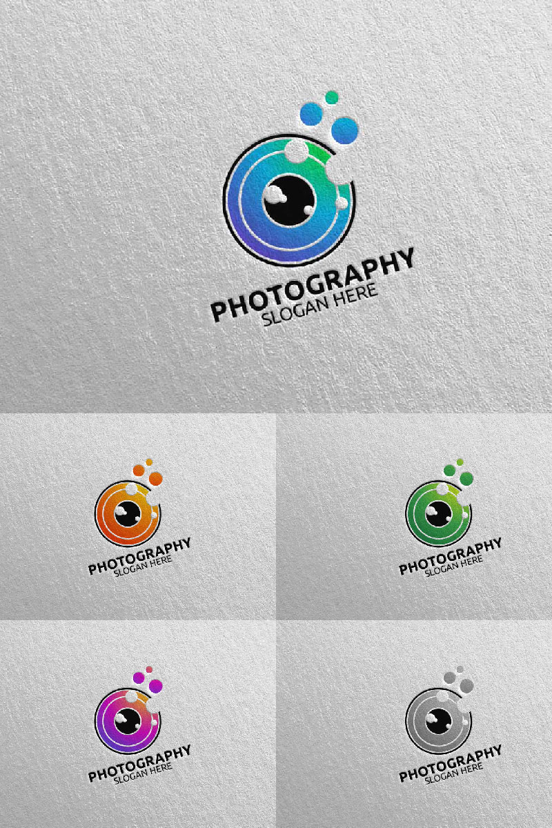 """Abstract Camera Photography 31"" Logo template №94036"