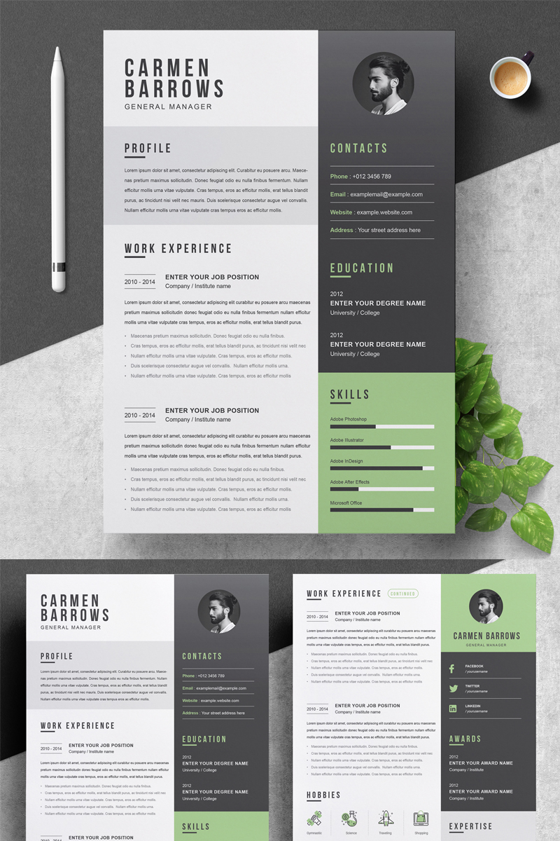 Carmen Resume Template
